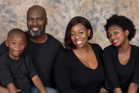 family portrait by Brad Ottosen