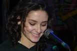 Emily Eisa performing live
