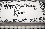 Kim's birthday party