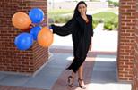 Lena's HBU Graduation Portrait