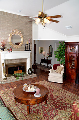 Greatwood home living room