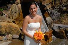 bridal portrait by Brad Ottosen