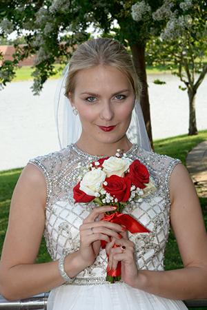 bridal portrait in Sugar Land TX