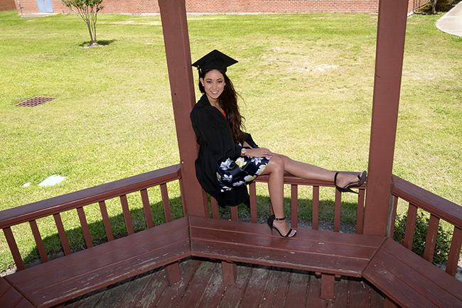 HBU graduation portrait