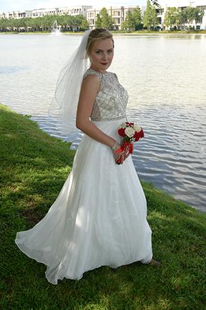 bridal portrait in Sugar Land TX - Brad Ottosen