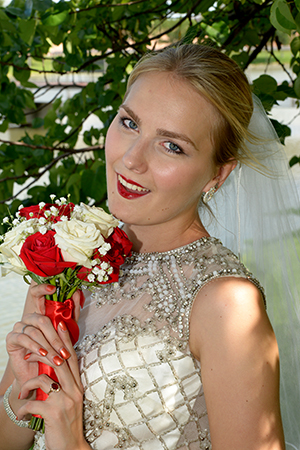 bridal portrait in Sugar Land Texas - Brad Ottosen