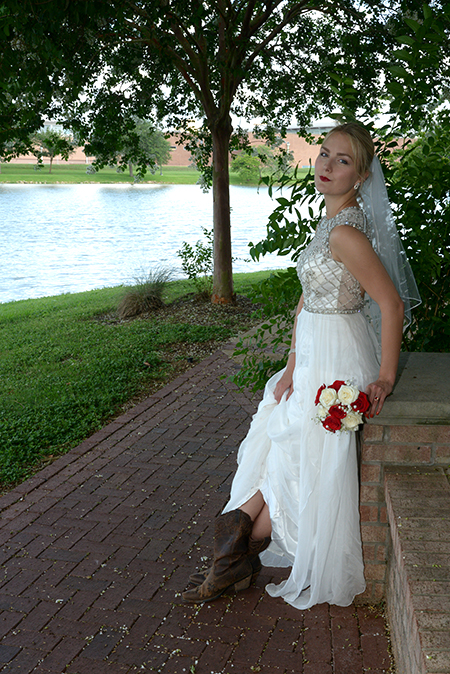 bridal portrait in Sugar Land TX by Brad Ottosen