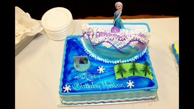 Mariam's birthday cake